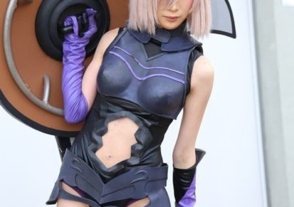 Mashu Kyrielight from Fate/Grand Order | AnimeJapan 2018 - Cute and Pretty Cosplays from New Series to Classics