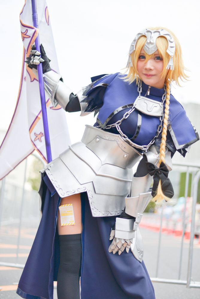 Aichika as Jeanne d'Arc from 'Fate/Grand Order' | Cosplayers from AnimeJapan 2018