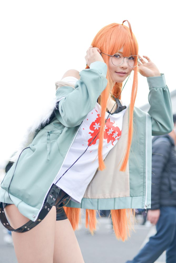 Nanami Miyakoshi as Futaba Sakura from 'Persona 5' | Cosplayers from AnimeJapan 2018