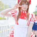 Anzu Amemiya as Kirari Tsukishima from 'Kirarin☆Revolution' | Cosplayers from AnimeJapan 2018