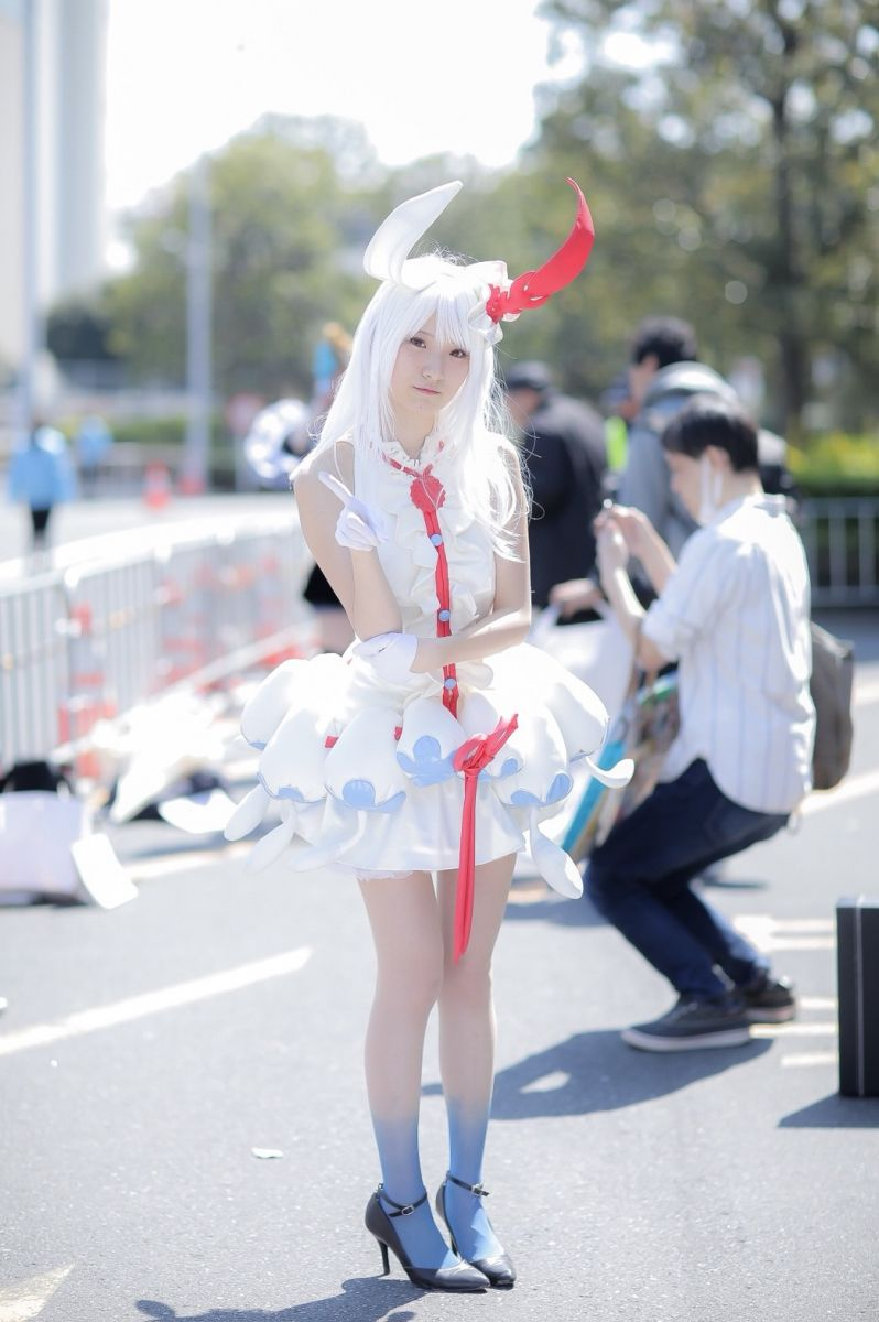 Futon as Choco from 'Last Period: The Story of an Endless Spiral' | AnimeJapan 2018 - Last Day Cosplay Gallery