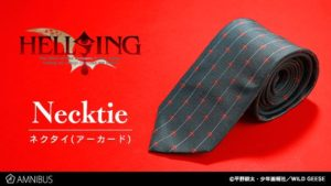 Hellsing Anime Necktie | Anime Merchandise Monday (2-9 April)©平野耕太・少年画報社/WILD GEESE