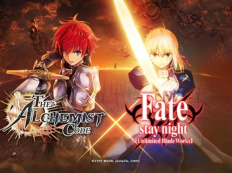 Limited Fate/stay night [Unlimited Blade Works] Crossover With The Alchemist Code Smartphone Game