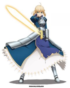 Saber | Fate/stay night x The Alchemist Code | Game Collaboration