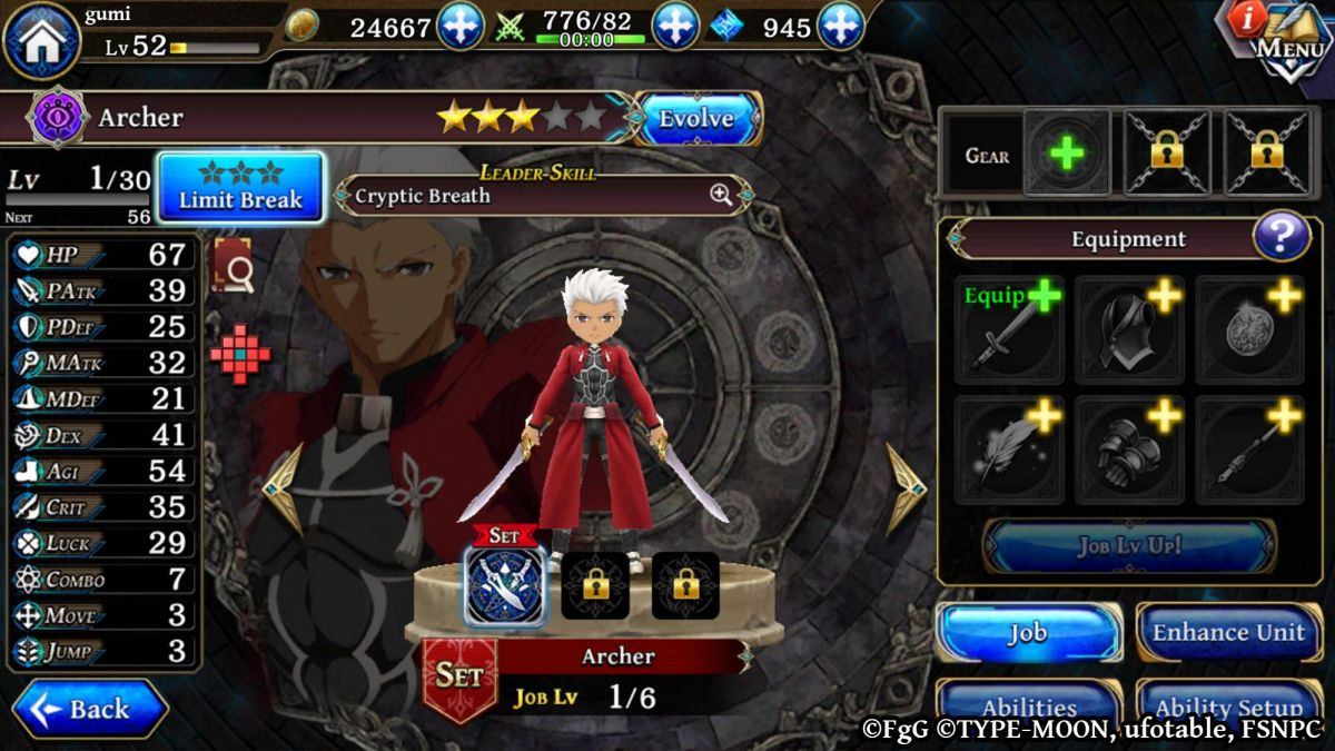 Fate/stay night x The Alchemist Code | Game Collaboration
