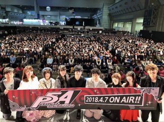 [AJ2018] Persona 5 the Animation Special Stage Report With Cast Members
