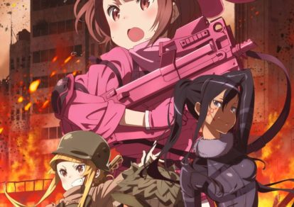 Anime Sword Art Online Alternative Gun Gale Online