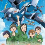 Dragon Pilot: Hisone and Masotan Anime Visual