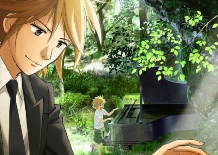 anime Piano no Mori (The Piano Forest) Visual
