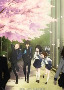 Hyouka Anime Series Visual