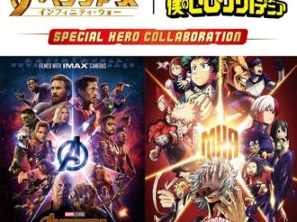 My Hero Academia × Avengers Collaboration Visual and Videos