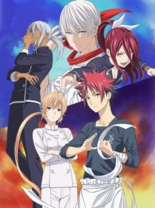 Food Wars Anme Visual