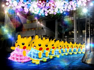 Yokohama Drowns in a Sea of Yellow Again During Pikachu Event 2018