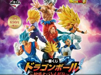 Upcoming Dragon Ball Super Lottery Focuses on Battle Poses