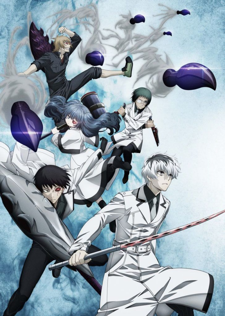 Tokyo Ghoul:re Anime Visual