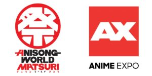 Anisong World Matsuri and Anime Expo Logos