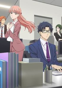 Wotakoi: Love is Hard for Otaku Anime Visual