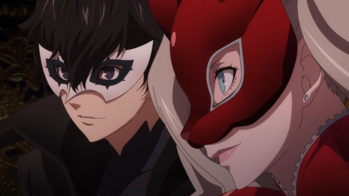 Persona 5 Episode 4 Official Anime Screenshot
