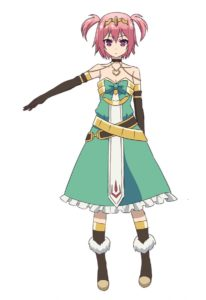 Linnea from The Master of Ragnarok and Blesser of Einherjar (Hyakuren no Haou to Seiyaku no Valkyria) Anime