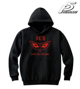 Hoodie | Persona 5 Anime| Anime Merchandise Monday (7-13 May) ©ATLUS ©SEGA All rights reserved.
