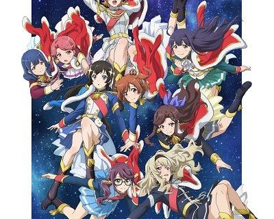 Summer 2018 TV anime Shojo Kageki Revue Starlight.