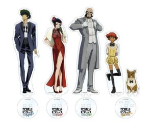 Acrylic Stands | GOOD SMILE x Animate Cafe Cowboy Bebop Anime Themed Cafe