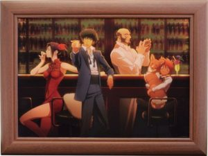 Canvas | GOOD SMILE x Animate Cafe Cowboy Bebop Anime Themed Cafe