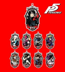 Acrylic Key holder | Persona 5 Anime | Anime Merchandise Monday (14-20 May) ©ATLUS ©SEGA All rights reserved.