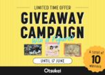 WIN Amazing Prizes by Purchasing Items via Otsukai - Round 2!