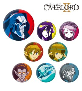 Badges | Anime Overlord II | Anime Merchandise Monday (21-27 May) ©丸山くがね・KADOKAWA刊/オーバーロード2製作委員会