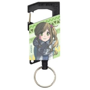 Keyholder | Anime Yurucamp | Anime Merchandise Monday (21-27 May) (C)あfろ・芳文社/野外活動サークル