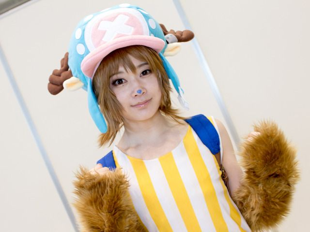 Natsume @natsume_cos as Chopper from 'One Piece' | Super Comic City 27 - Cosplayers from the Second Day | Cosplay