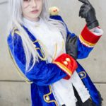 Fuku @kifuku1019 Female Prussia from 'Axis powers Hetalia' | Super Comic City 27 - Cosplayers from the Second Day | Cosplay