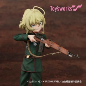 Tanya Figure | Anime The Saga of Tanya the Evil | Anime Merchandise Monday (21-27 May) (C) カルロ・ゼン・KADOKAWA刊/幼女戦記製作委員会