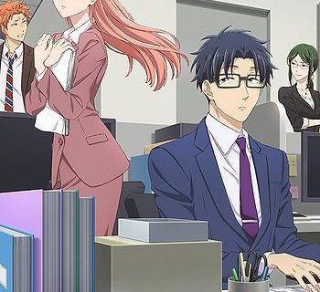 Wotakoi: Love is Hard for Otaku Anime Visual (c)ふじた/一迅社