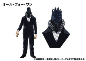 All For One Character Design | My Hero Academia Anime