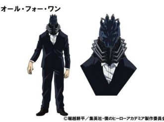 My Hero Academia Anime Reveals Character Design for All For One and Comment from Akio Otsuka