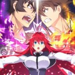 Anime High School DxD Hero Visual