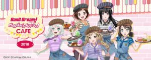 TV anime Bang Dream! Girls Band Party! Anime Themed Cafe