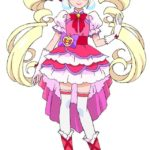 Cure Macherie from anime HUGtto! Precure