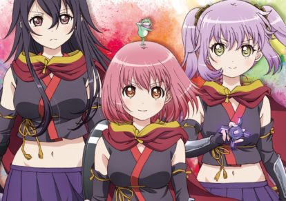 TV anime Release the Spyce Character CD Jacket