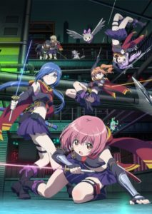 TV anime Release the Spyce Anime Visual