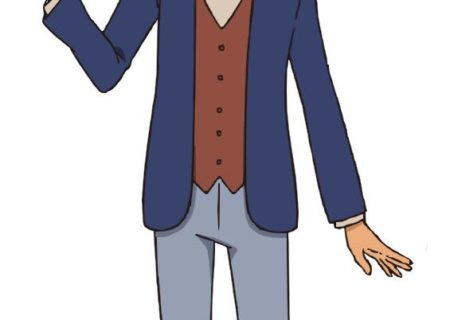 Luke Triton (VA: Soma Saito) from Layton anime