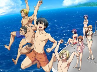 Refreshing New Key Visual for Grand Blue Released