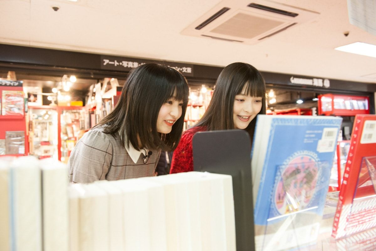 Mandarake Kaiba | Sumire Uesaka & Kana Hayase Exclusive Photo Session at Nakano Broadway