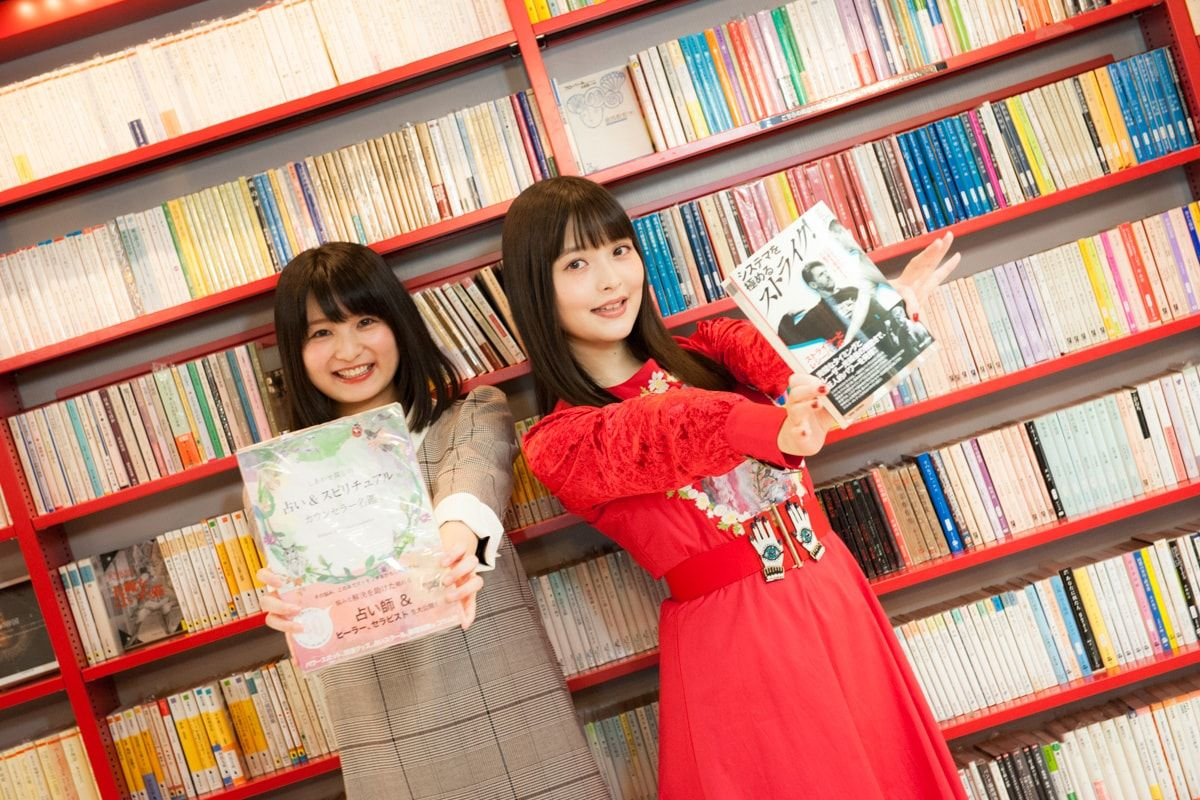 Mandarake Kaiba | Mandarake Kaiba | Sumire Uesaka & Kana Hayase Exclusive Photo Session at Nakano Broadway