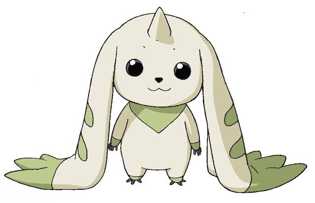 Terriermon from anime Digimon Tamers