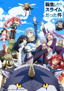 That Time I Got Reincarnated as a Slime Anime Visual