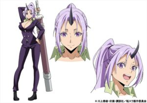 Shion from anime That Time I Got Reincarnated as a Slime