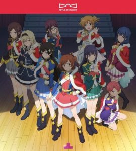 Opening CD jacket design Shojo Kageki Revue Starlight